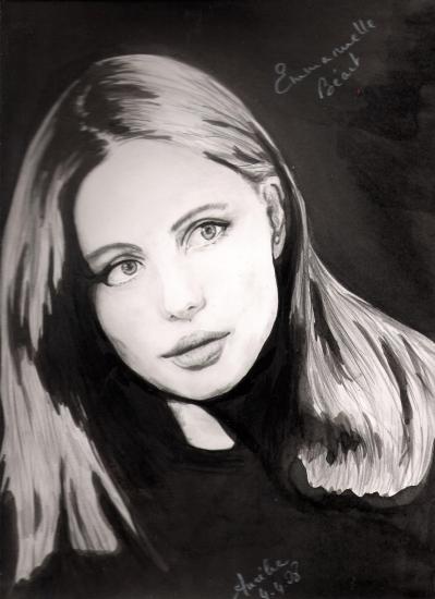Emmanuelle Béart par aurelia